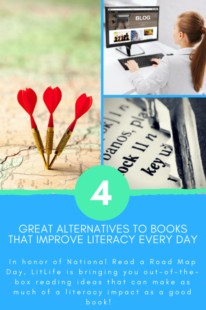 4 Great Alternatives to Books That Improve Literacy Every
